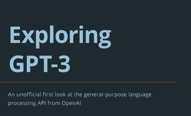 Book Review: Exploring GPT-3